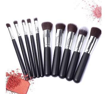 Kabuki 10pcs Makeup brush Set