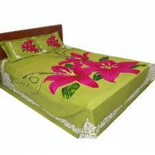 Cotton Dual size bedseet set
