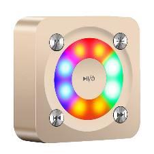 A9 Bluetooth Mini Sound Box - Golden