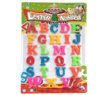 Learning Alphabet (English letter)