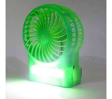 Rechargeable USB Fan and Light