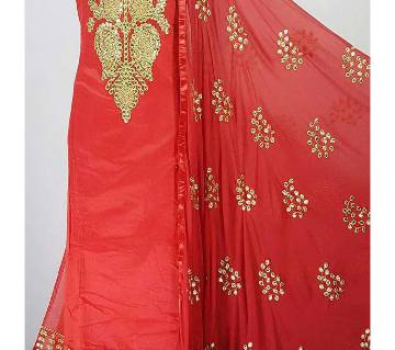 Indian Unstiched Gotapatti Three pieces