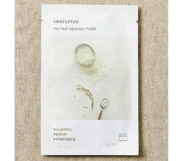 Innisfree (Korea), My Real Squeeze Mask Rice 1 Sheet 20 ml