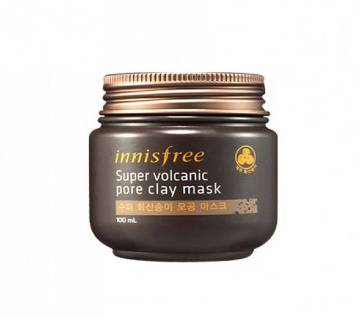 Super Volcanic Pore Clay Mask Innisfree - Korea