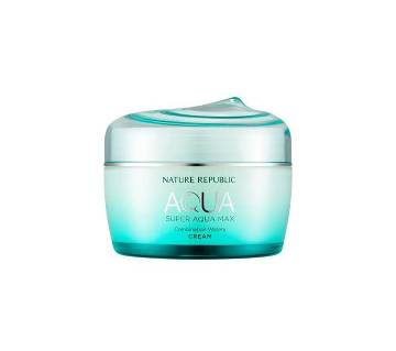 Super AQUA Max Watery Cream Nature Republic - Korea