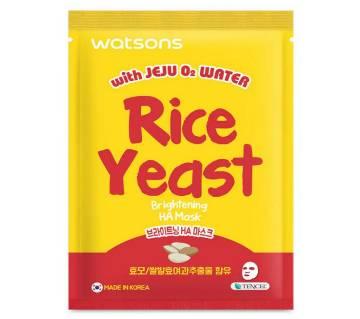 RICE Yeast brightening mask-15ml-Korea