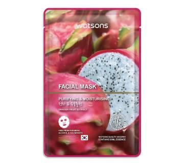 Dragon Fruit Extract facial Mask-25ml-Malaysia