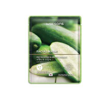 WATSONS Cucumber Extract Facial Mask-30ml-Korea