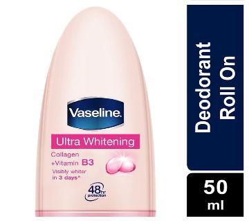 Vaseline Deodorant Ultra Whitening 50ml - Malaysia