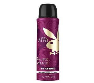 PLAYBOY perfume deodorant 150 ml --FRANCE