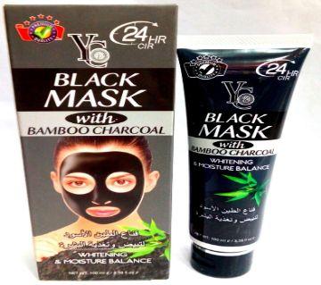 YC Bamboo Charcoal Black Mask-100 ml China
