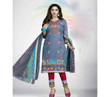 Indian Cotton Unstitched Salwar Kameez