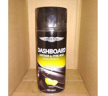 Dashboard-Leather and Tyre wax