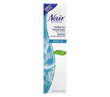 Nair Sensitive Hair Removal Cream (UK)