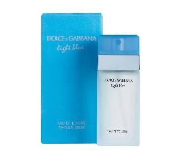 D & G Light Blue Eau de Toilette Spray for Women USA