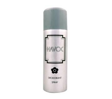 HAVOC Silver Perfume Body স্প্রে  for Men - 200ml USA