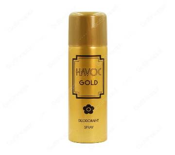 HAVOC Gold Deodorant বডি স্প্রে for Women (UAE)