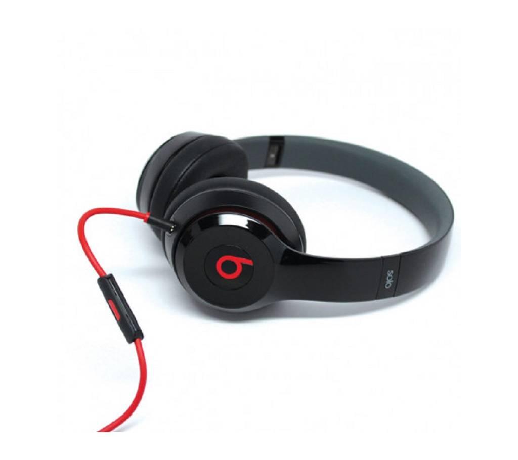 Beats solo-2 ওয়্যারড হেডফোন কপি বাংলাদেশ - 661060