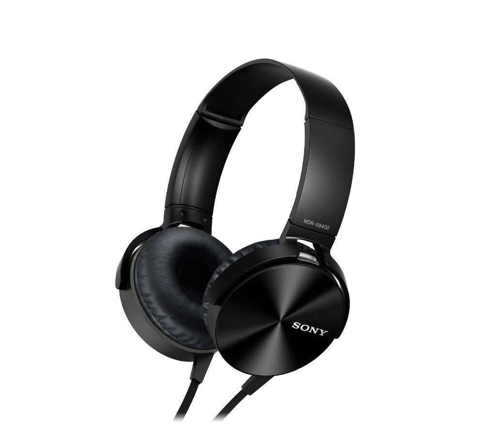 Sony Extra Bass MDR-XB450AP অন-ইয়ার হেডফোন কপি বাংলাদেশ - 661381