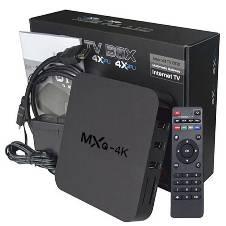 MXQ 4K Android TV Box - Black