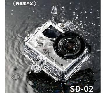 REMAX DV 4K Action Camera - Silver