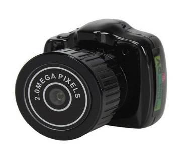 Mini DSLR স্পাই ক্যামেরা - Black