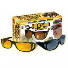 HD Vision WrapAround Day and Night Vision Sunglasses