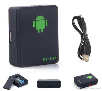 A8 Sim Device with GPS ট্র্যাকার - Black