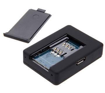 GPS/GSM with Auto Call Receive ট্র্যাকার - Black