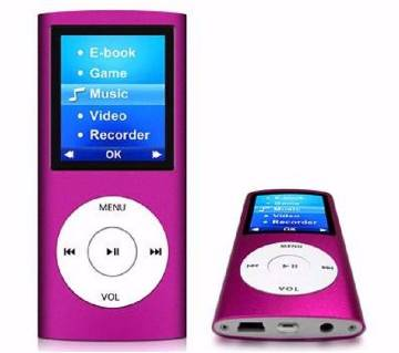MP4 Player - Purple