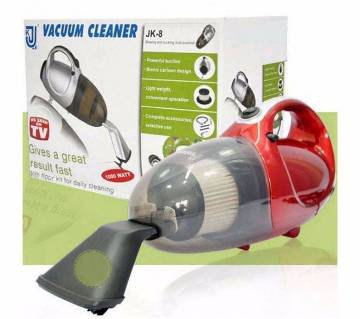 Handheld Vacuum Cleaner - Red and Gray