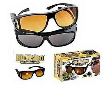 HD Vision WrapAround Day and Night Vision Sunglass