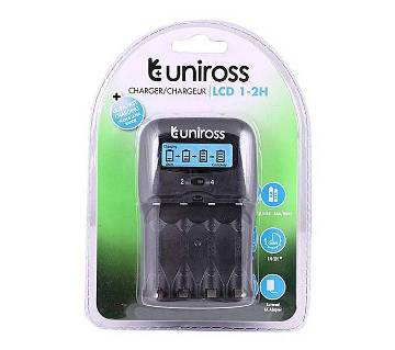 1-2H Uniross Battery Charger - Black