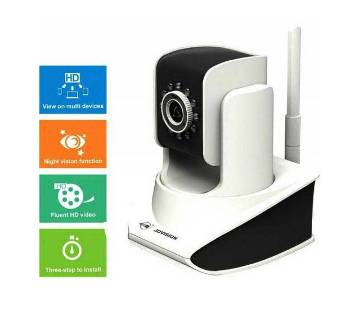 ovision H411 HD WiFi IP Camera - White and Black