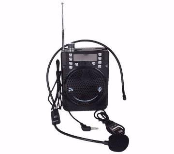 রিচার্জেবল লাউড স্পিকার উইথ FM - Black বাংলাদেশ - 6693401