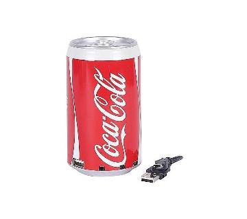 oca Cola Can Multimedia স্পিকার MP3 FM Radio USB Rechargeable