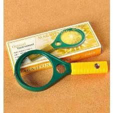 Powerful Magnifying Glass (Medium) - Green and Yellow