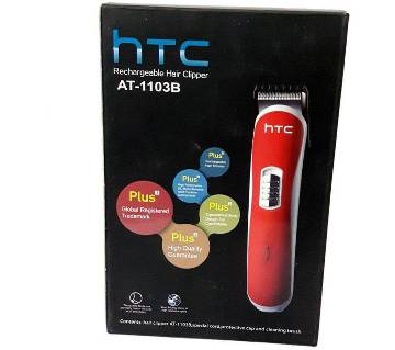HTC AT-1103B Hair Trimmer - Blue And Read