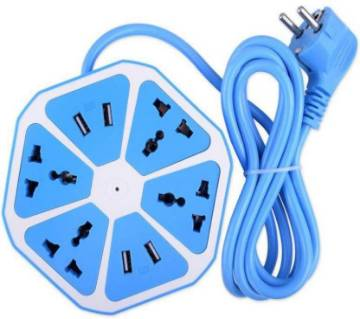 Multiplug with 4 usb port
