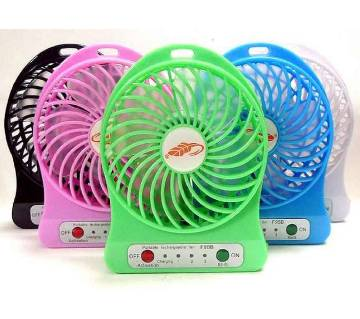 Portable rechargeable fan (1pcs)
