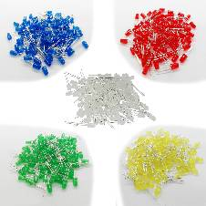 5mm LED Combo Pack (5x10) 50 Piece