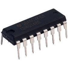 IC 4014 8-stage shift register