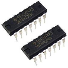 IC 74LS04 NOT gate (2 Piece)