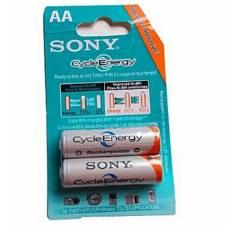 Sony AA size Ni-MH রিচার্জেবল ব্যাটারি