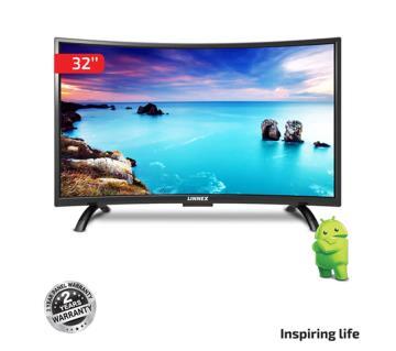 Linnex SMART Curved LED TV-32 Black
