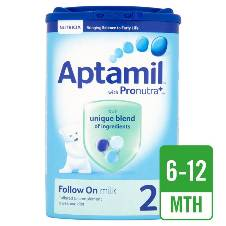 Aptamil Stage 2 Follow on Milk 900G - UK