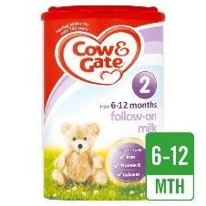 Cow & Gate 2 Follow On Milk 900G - UK