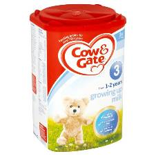 Cow & Gate 3 Milk Powder 900G - UK