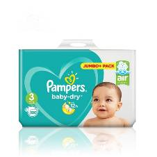 Pampers জাম্বো প্যাক Size 3 (6 - 10kg) - UK বাংলাদেশ - 7841411