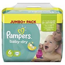 Pampers Baby Dry Size 6 (13 - 18kg)  Jumbo Pack - UK বাংলাদেশ - 7876811